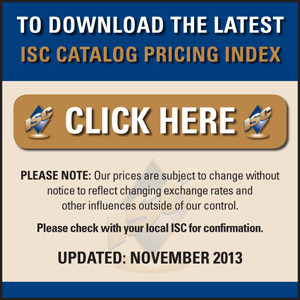 ISC Catalogue Pricing